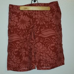 Patagonia water girl board shorts